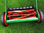 Topp Rasenmäher mit Vertikutierrechen