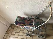 Kinderwagen Teutonia mit Klarsichtverdeck und