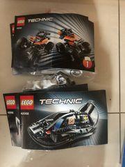 Lego Technic 42001 und 42002
