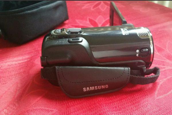 Samsung Digital Camcorder fast neu -