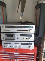 Rarität Musikbausteine Stereoanlage ca 40