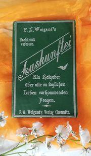 Buch Nachschlagewerk um 1940 Die