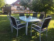 Gartenmöbel mit 8 Stühlen