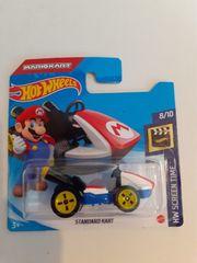 Hot Wheels Standard Kart Mariokart