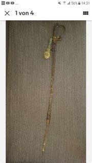 Antik Säbel Portepee Deko 1800
