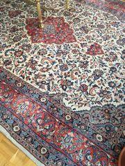 Großer handgeknüpfter Perser Orientteppich Scherkate
