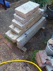 Granit Leisten verschiedene Längen