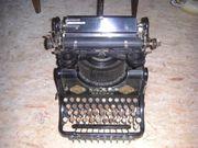 Schreibmaschine historisch Stoewer Record