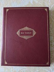 Tafelbuch - für Hochzeiten Festlichkeiten Diners