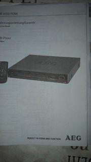 DVD Player Neu