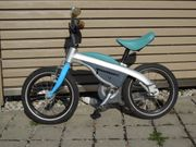 BMW Kidsbike blau Laufrad Fahrrad