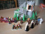 Zusammengebautes Diorama Die Felsentreppe zum