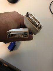 VGA-Kabel - dvi DMS-59 M - HD-15