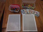 Steckspiel Mosaik mit Steckperlen in