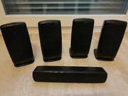 5 Samsung Lautsprecher inkl Kabel