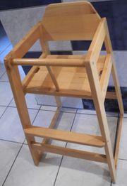 Hochstuhl Kleinkinderstuhl Massivholz