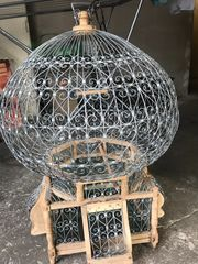 Orientalischer Vogel Käfig