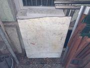 Weiße Marmorplatte