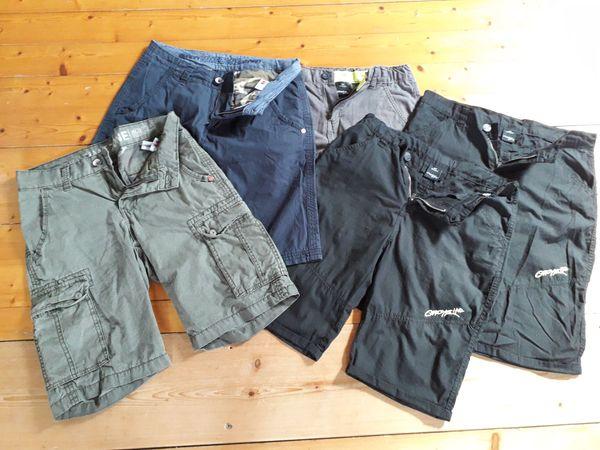 Verkaufe Paket kurze Hosen 164-170