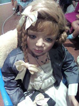 Puppen - Künstlerpuppe von Christin Orange