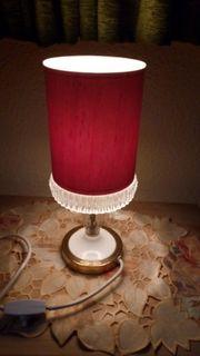Lampe Leuchte Nachttischlampe retro