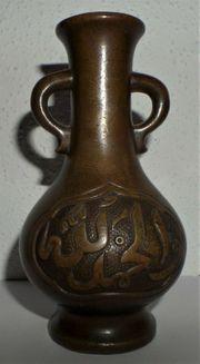 China Bronze Vase islamisch-arabisch Chinese