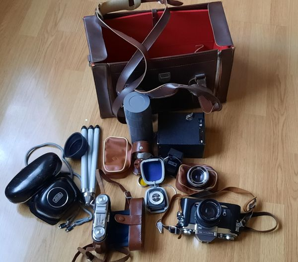 Icarex Spiegelkamera 35