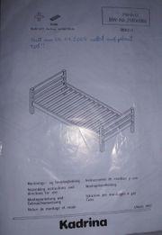 Einzelbett Modell KADRINA Dänisches Bettenlager