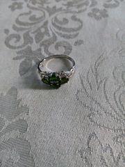 Wunderschöner Diopsid Ring