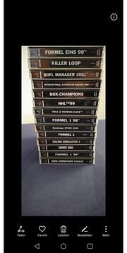 Playstation 1 Spiele Sammlung abzugeben