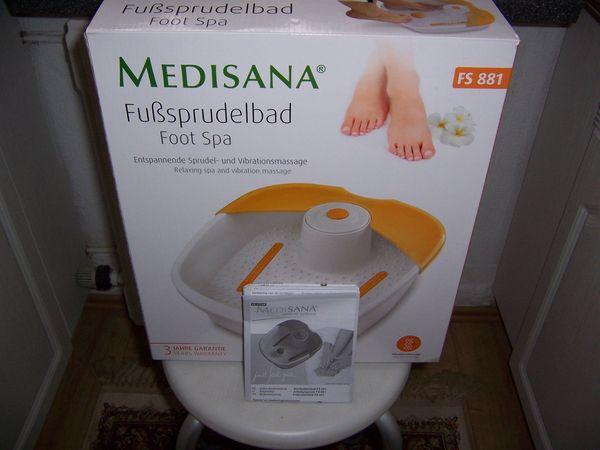 Medisana Fußsprudelbad