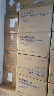 50 Medizinische Einwegmasken Mundschutz Typ