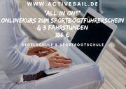 Onlinekurs zum Sportbootführerschein See - Binnen