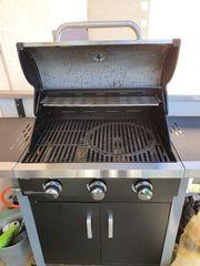 ROTHMANN Gasgrill Grillwagen Barbecue Grill