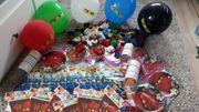 Ninjago Partydeko Kindergeburtstag Feier mit