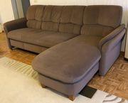 Couch Sofa Eckgarnitur mit Schlaffunktion