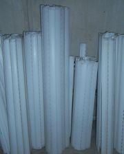 Rolläden PVC weiss hell glatt