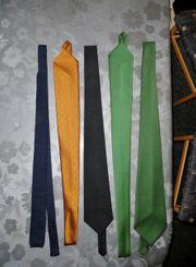 Konvolut 4 sehr schöne Krawatten