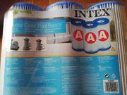 Fünf Filter - Kartuschen Intex