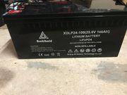 LiFePo4 Batterie 24V 100Ah BMS