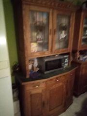 antiker küchenschrank weichholz-