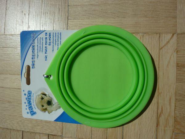 Zooplus - NEU mit Etikett 2 faltbare Reise Futter - &Wassernäpfe