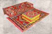 Orientalische Shisha-Sitzecke Sark Kösesi 9-tlg