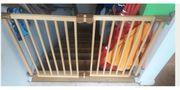 Treppengitter Babyschutzgitter flexible Breite bis120cm