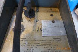 Geräte, Maschinen - Schweißtrafo Junior DDR