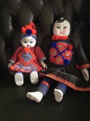 Chinesische Porzellankopf-Puppen