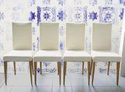 4 schöne Esszimmerstühle
