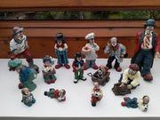 Gilde Clown Sammlung 14 Figuren