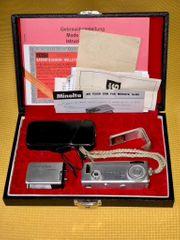 Minolta 16 MG Miniaturkamera KIT