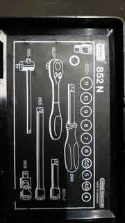 Hazet 852N Steckschlüsselsatz 1 4
